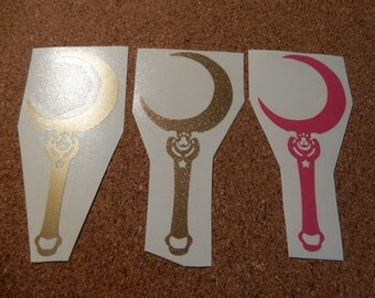 Sailor Moon Wand Vinyl Decal