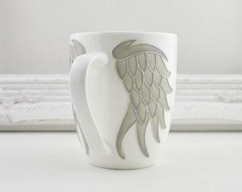 Angel WIngs Fine Bone China Mug