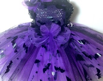Just Batty Tutu Perfect  for: halloween, outfit of choice, photo shoot, pageant wear, ooc tutu, halloween costume