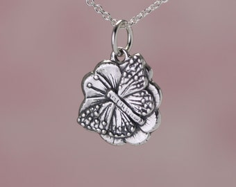 Sterling Silver Butterfly Charm – Sterling Silver Charm – Sterling Butterfly Charm – Sterling Charm – Sterling Silver Butterfly Jewelry Gift