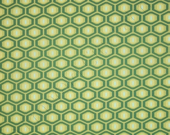Amy Butler Fabric by the Yard Midwest Modern 2 Honeycomb Forest Green AB25-FOREST