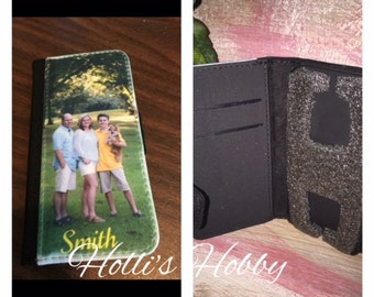 Wallet Phone Case, with Photo