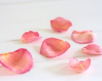 ROSE PETALS, Wedding Confetti, Petal Toss, Bridal Paths, biodegradable Petals, dried Rose Petals, 10 Cups Petals, for fairy tale endings