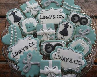 Breakfast at Tiffany's Cookies