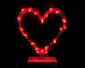 LED Hearts - you choose the color!