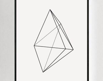 Large Art Print, Geometric Prints, Modern Art Large, Large Modern Art, Large Print, Geometric Wall Art, Large Geometric Art, Modern Prints