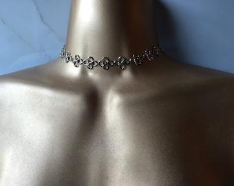 Silver Aphrodite Choker