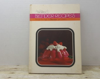 Blender Recipes, 1971, Joan Oster, vintage cookbook