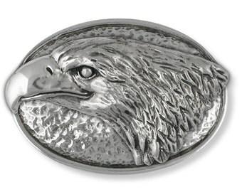 Eagle Belt Buckle Handmade Sterling Silver Wildlife Jewelry EG3-BK