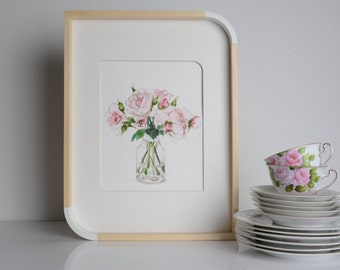 Wedding Flowers, Custom Watercolor