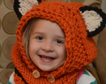 Fox Cowl - MADE TO ORDER