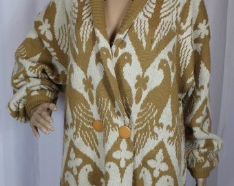 JJ browne button up sweater