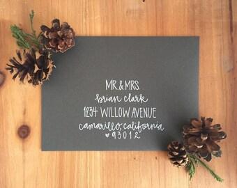 Wedding Calligraphy - Envelope Addressing