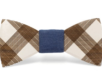 "Wood Bow tie ""Emmett"""