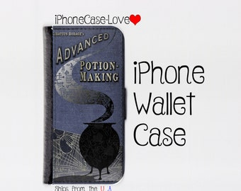 Harry Potter Advanced Potion Making Book iPhone 6S Case - Harry Potter Advanced Potion Making Book iPhone 6S Wallet Case