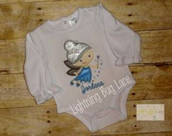 Periwinkle shirt Periwinkle birthday fairy shirt Tinkerbelle Fairy friend Periwinkle clothing for girls winter fairy ice fairy
