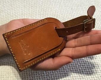 Authentic vintage louis vuitton bag tag