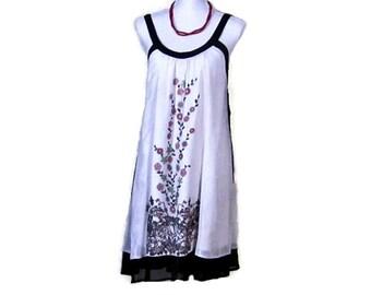 SILK PARTY DRESS, Silk Chiffon dress, crinkled silk dress, French silk dress, Vintage silk dress, Unique Retro Clothes, EuropeanRetroFashion