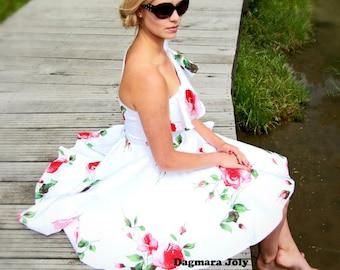 one shoulder dress, women clothing, one shoulder prom dress, ruffle dress, white one shoulder dress, off shoulder white dress