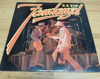 ZZ Top Fandango Vinyl Record LP album classic blues rock