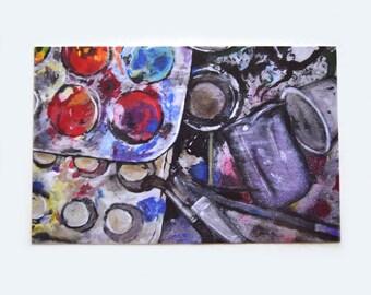 The Artist's Sink - Mini Art Print