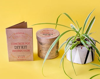 DIY Concrete Pot kit