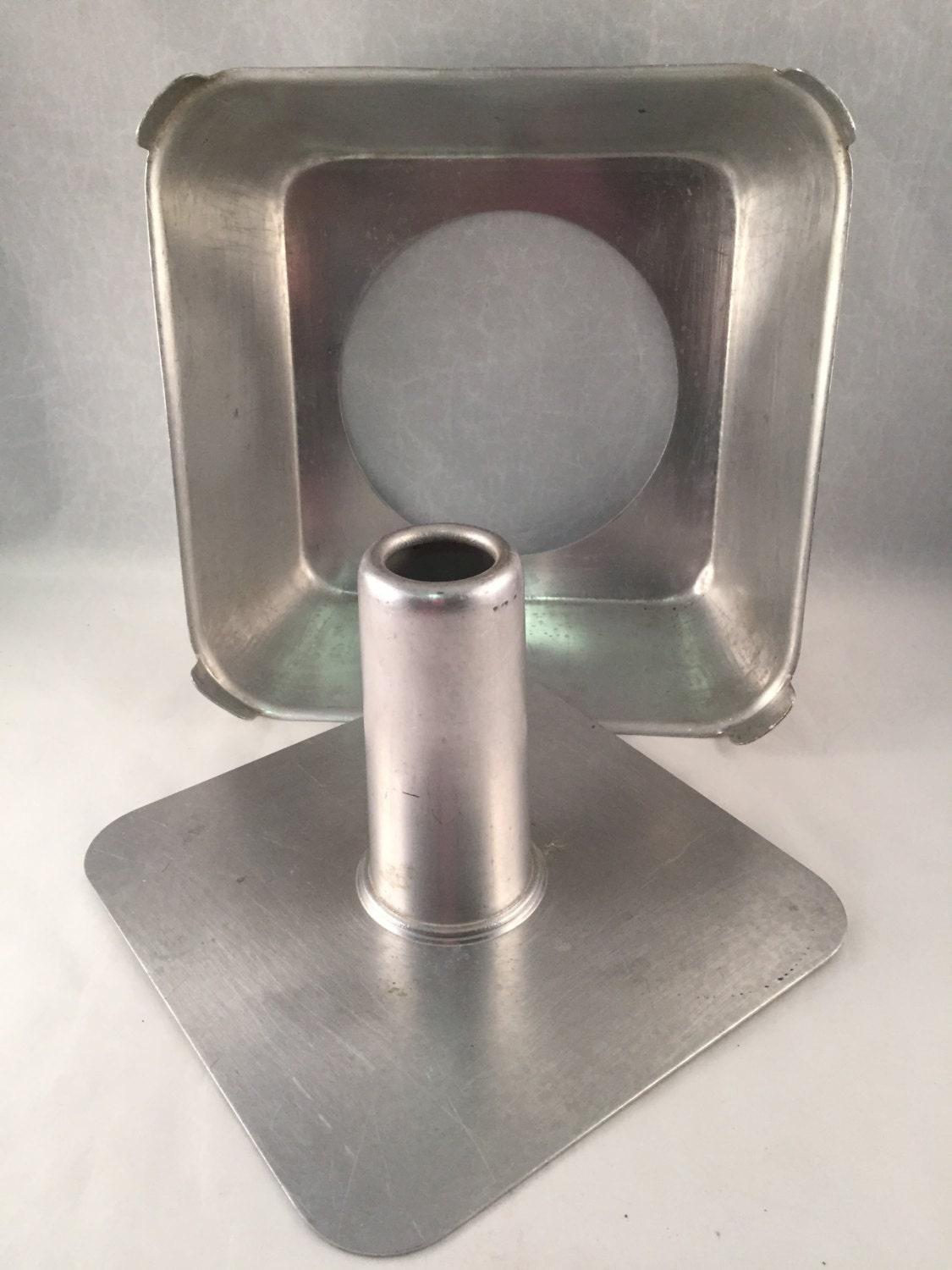 Vintage Wear Ever Square Angel Food Cake Pan 2 Piece With