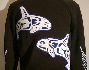 Orca V neck coat