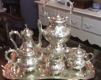Silver Plated Tea Set by Folgate
