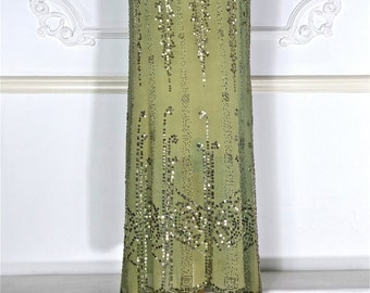 1920s Beaded Dress with Sequins