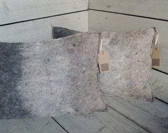 Unique pillow (wool felt) G