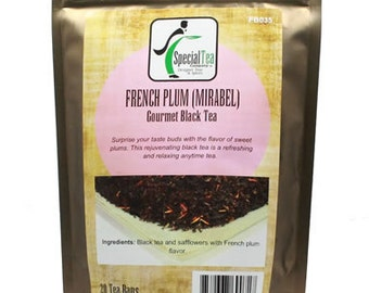 French Plum (Mirabel) Black Tea, 20 Tea Bags