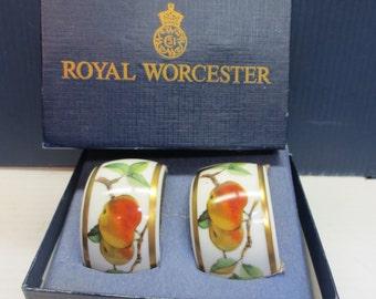 Royal Worcester EVESHAM GOLD (Porcelain) Napkin Ring 636156