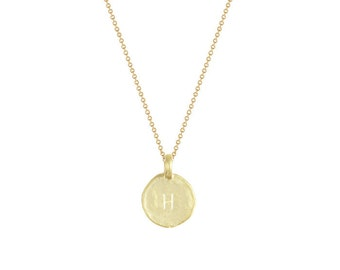"""Initial """"H"""" Necklace"""