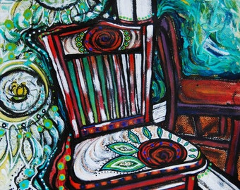 Chair #4, Limited Edition Giclee Print