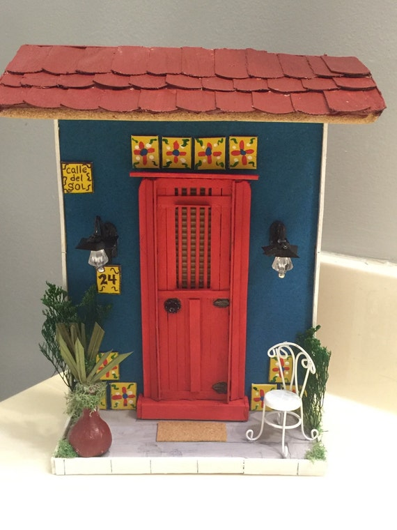 puerto rico old san juan style miniature houses home decor