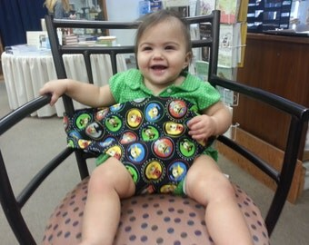 Baby Boy's Traveling High Chair