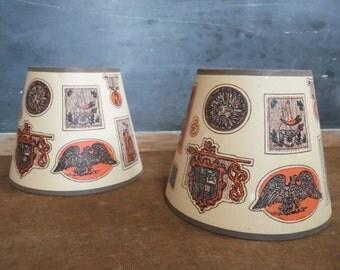 Mid Century Lamp Shade, Lamp Shade, Retro Lampshade,Lampshade,Pair of Lamps,Small Lampshade,Lamp Shade Vintage,Vintage Lamps,Lamp Shade Pair