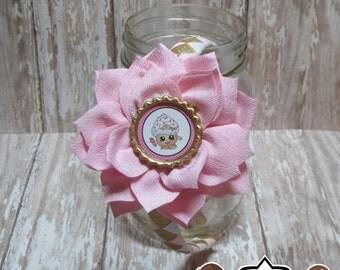 Cupcake Queen Shopkins Woven Flower Headband