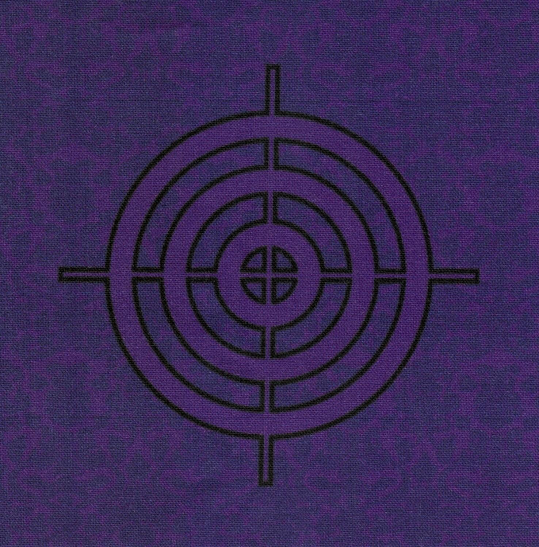 Discontinued Hawkeye Logo Fabric Print From Fandomfabric
