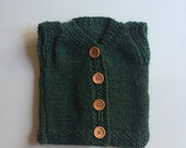 Knitted Baby Cardigan Sweater Vest