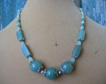 Beautiful Jade Choker Necklace