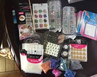 75% off w/coupon Nail Art Grab Bag - Free Shipping