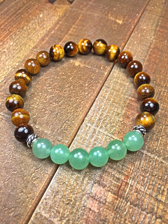 Men 39 s tiger eye and jade bracelet mens bracelet beaded for Pictures of jade jewelry