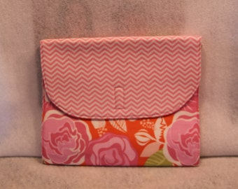 Pink and Orange iPad Cover
