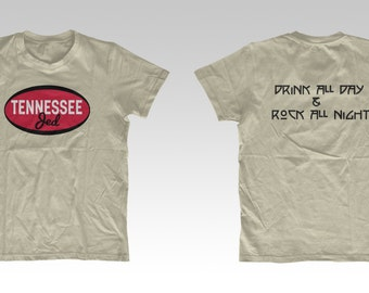 Tennessee Jed Grateful Dead inspired Lot T-shirt 10ACJED Shakedown Street Genesee Parody