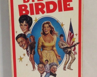 Bye Bye Birdie VHS Tape Movie - Comedy Based on Hit Broadway Show - Janet Leigh Ann Margret Bobby Rydell 1963 1985 Columbia Not Rated