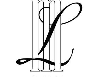 CUSTOM Wedding Monogram / Logo - DIGITAL FILE