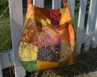 Cross body Bag (batik fall)