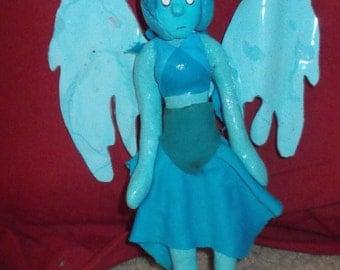 Lapis Lazuli clay figure